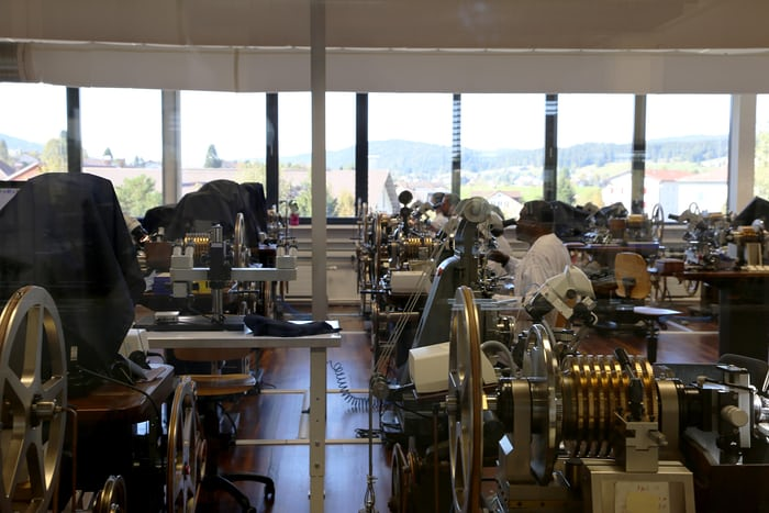 breguet manufacture rose engine lathe