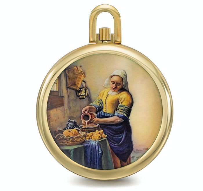 pocket watchPatek Vermeer's Milkmaid