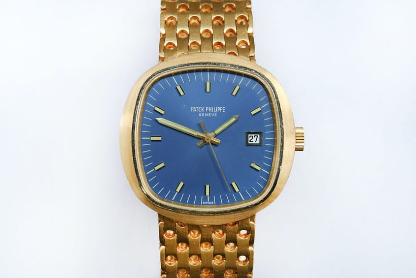 patek philippe beta 21 yellow gold