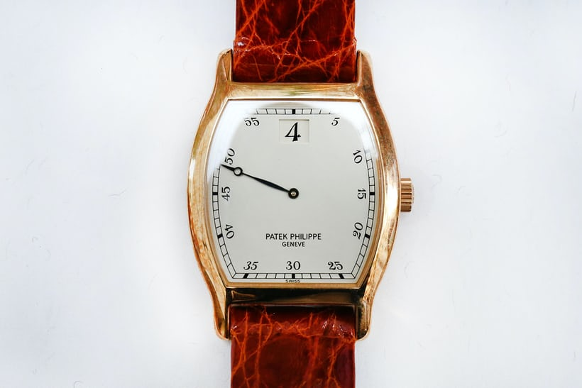 patek philippe 3969 jump hour yellow gold