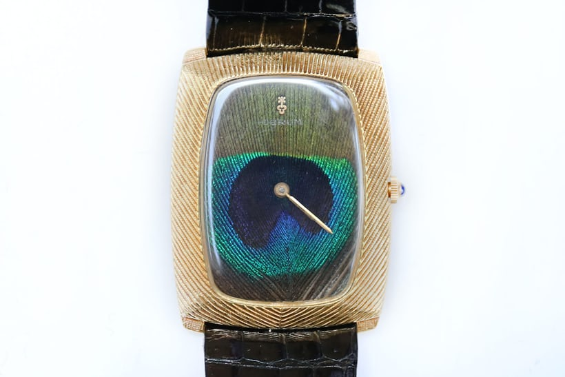 peacock dial corum watch 1970s