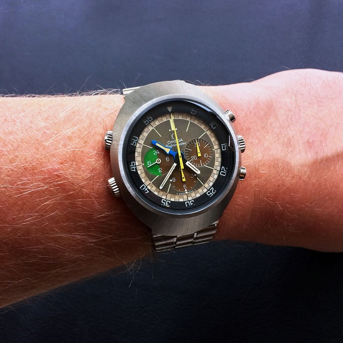 Omega Flightmaster Wristshot 145.013