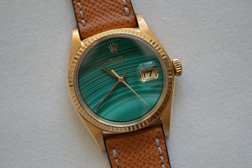 Rolex Datejust Reference 1601 Malachite