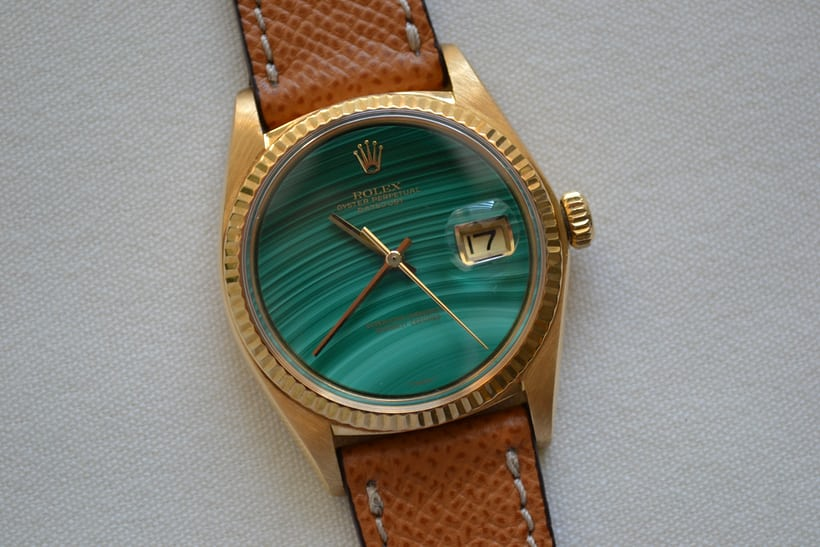 Rolex Datejust Reference 1601 Malachite