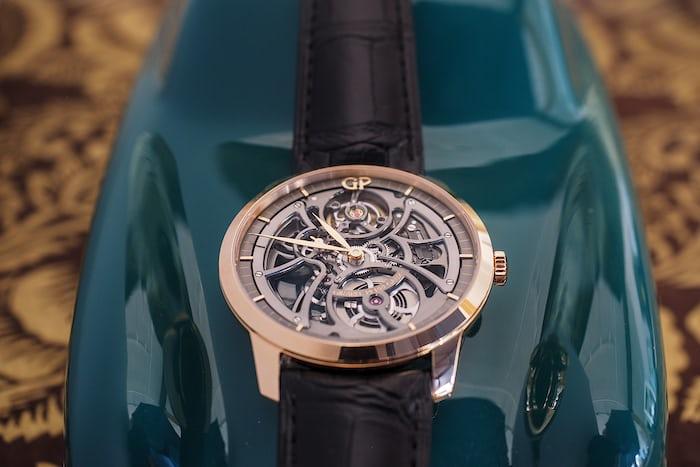 Girard-Perregaux 1966 Skeleton Automatic dial