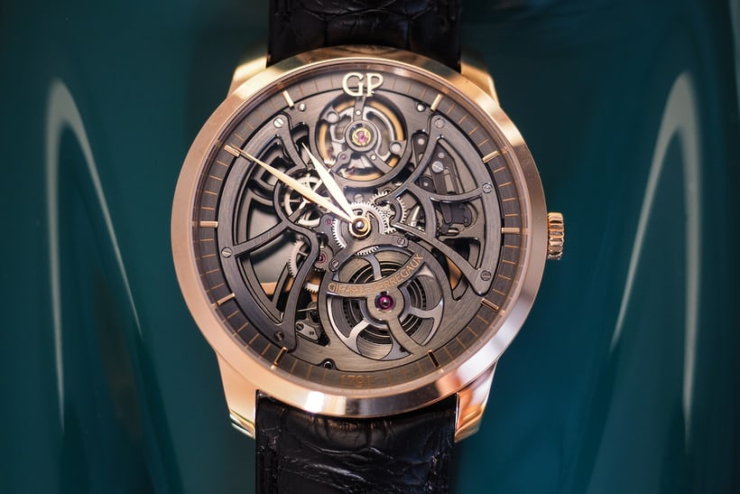 Girard-Perregaux 1966 Skeleton Automatic hands