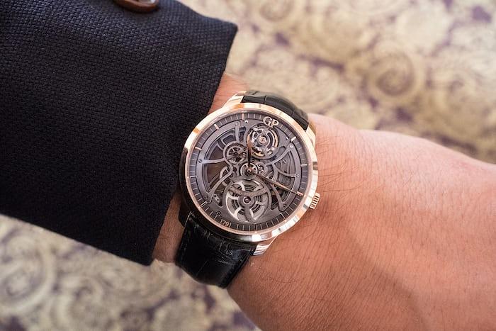 Girard-Perregaux 1966 Skeleton Automatic wrist shot