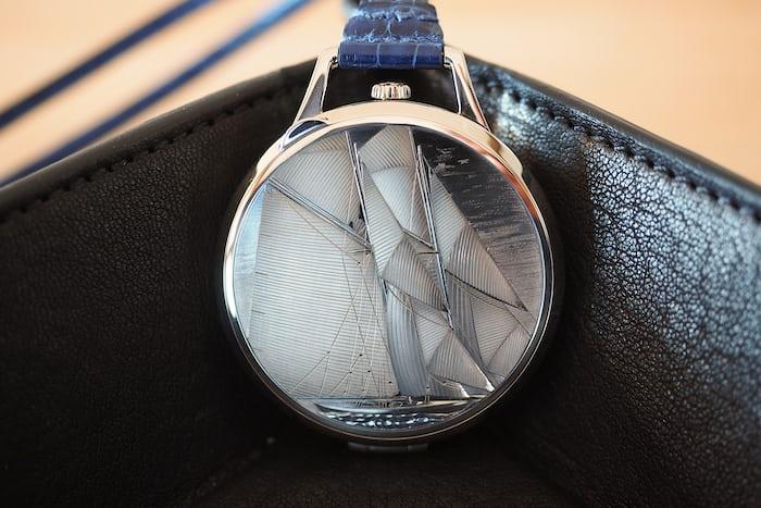 Slim d'Hermès Pocket Vieux Gréement