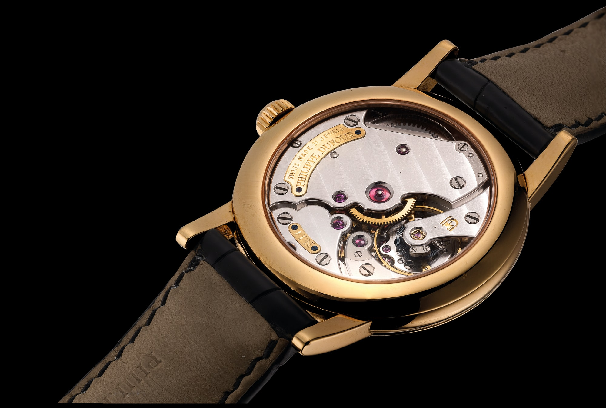 philippe dufour caliber 11 movement The Very First Philippe Dufour Simplicity To Be Sold At Auction Next Week (And The Second, And The Third) The Very First Philippe Dufour Simplicity To Be Sold At Auction Next Week (And The Second, And The Third) DufourSimplicity 4