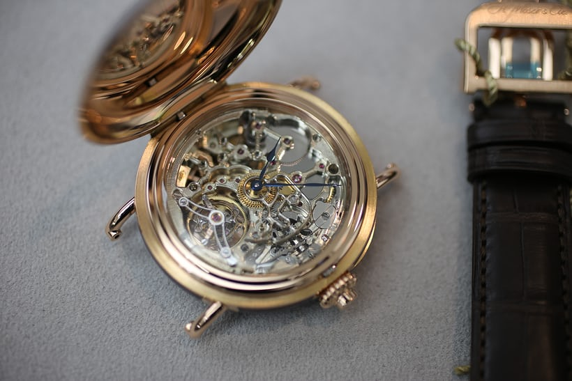 h moser Heritage Tourbillon Skeleton movement
