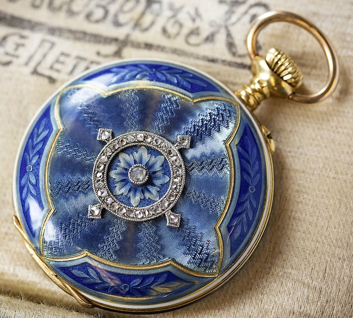 The Heinrich Moser pocket-watch that has inspired two Heritage wristwatches to date.
