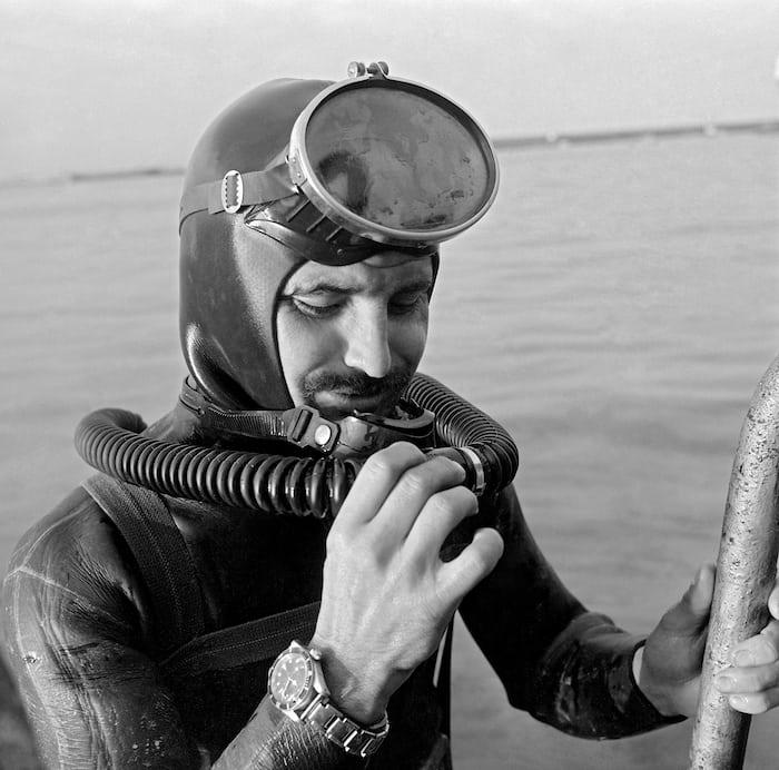 French diver tudor 7964