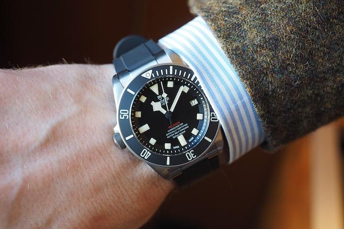 Tudor Pelagos LHD wrist shot