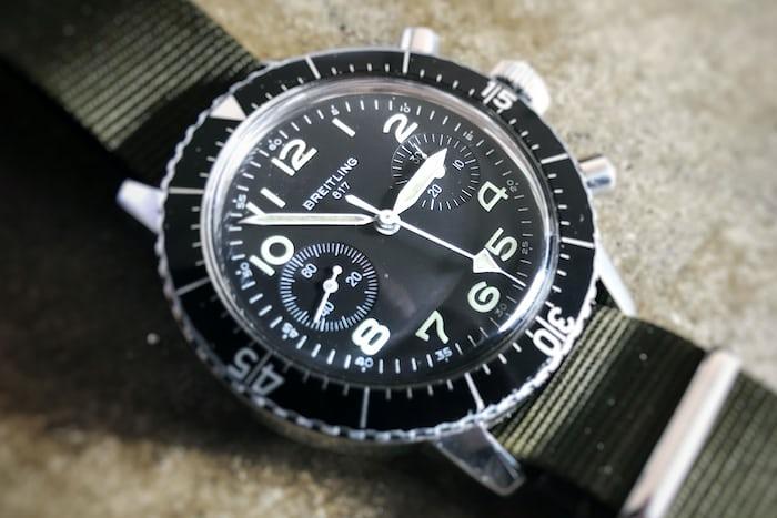 breitling pilot's chronograph
