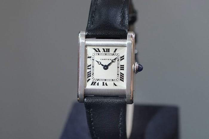 cartier tank early