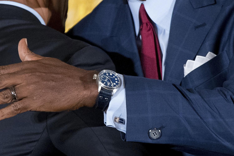 Watch Spotting Nba Great Michael Jordan Wearing An Iwc