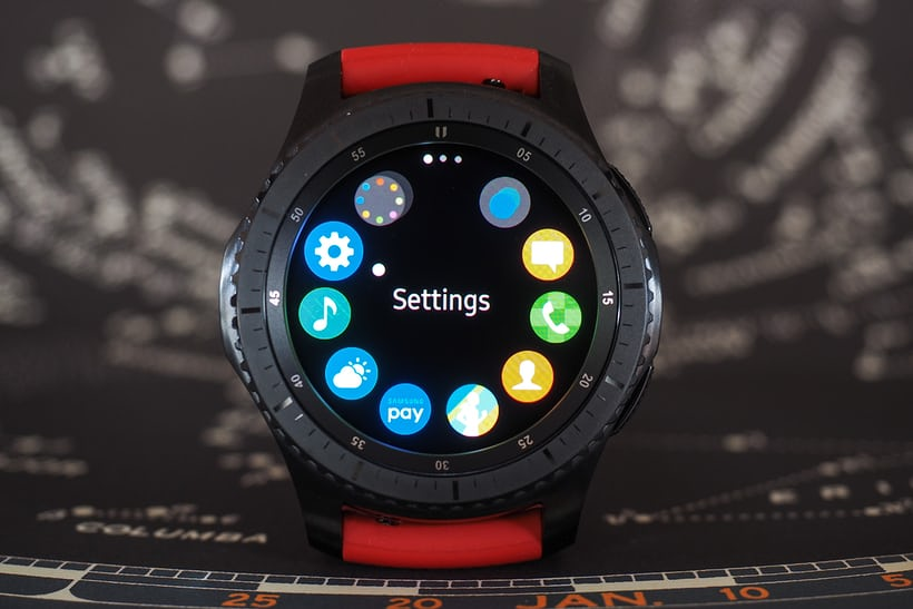 The Samsung Gear S3 bezel controller