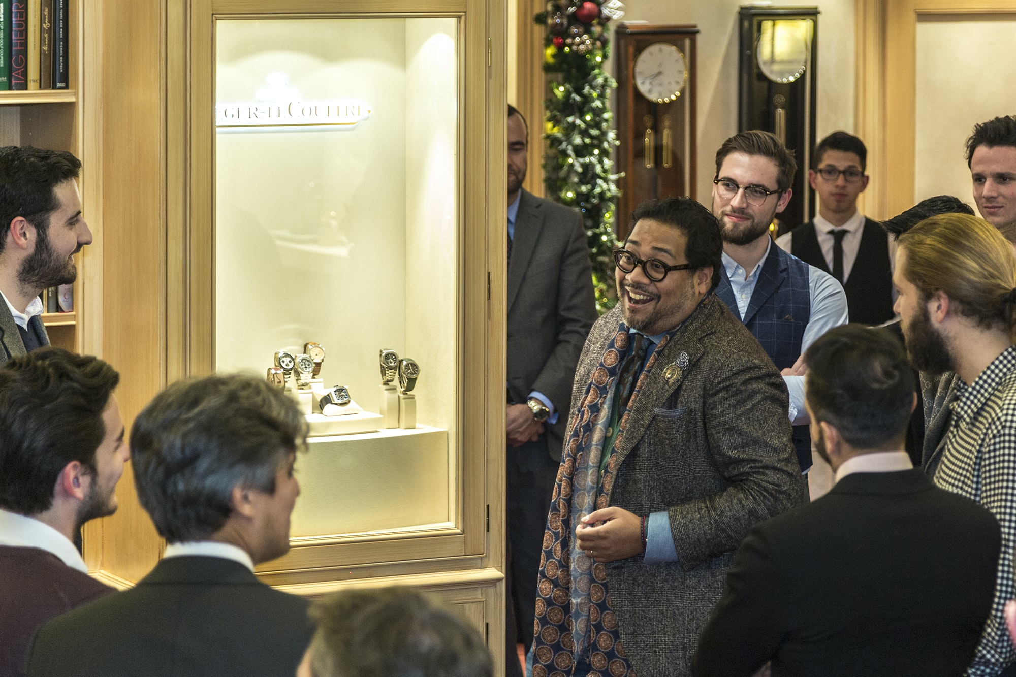 Photo Report: HODINKEE Hosts A Collector Get-Together At The Wempe Boutique In London Photo Report: HODINKEE Hosts A Collector Get-Together At The Wempe Boutique In London y