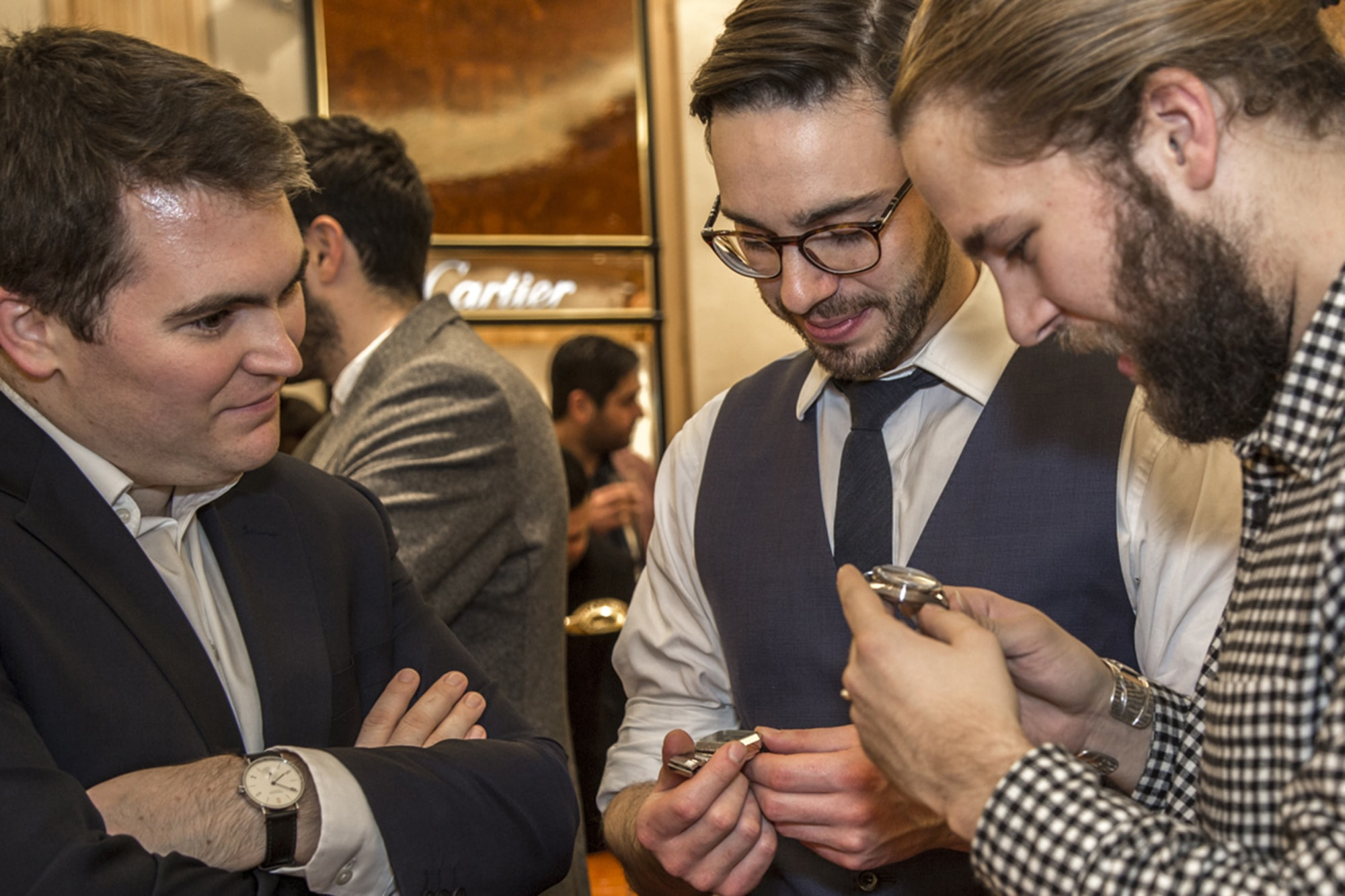 Photo Report: HODINKEE Hosts A Collector Get-Together At The Wempe Boutique In London Photo Report: HODINKEE Hosts A Collector Get-Together At The Wempe Boutique In London 7