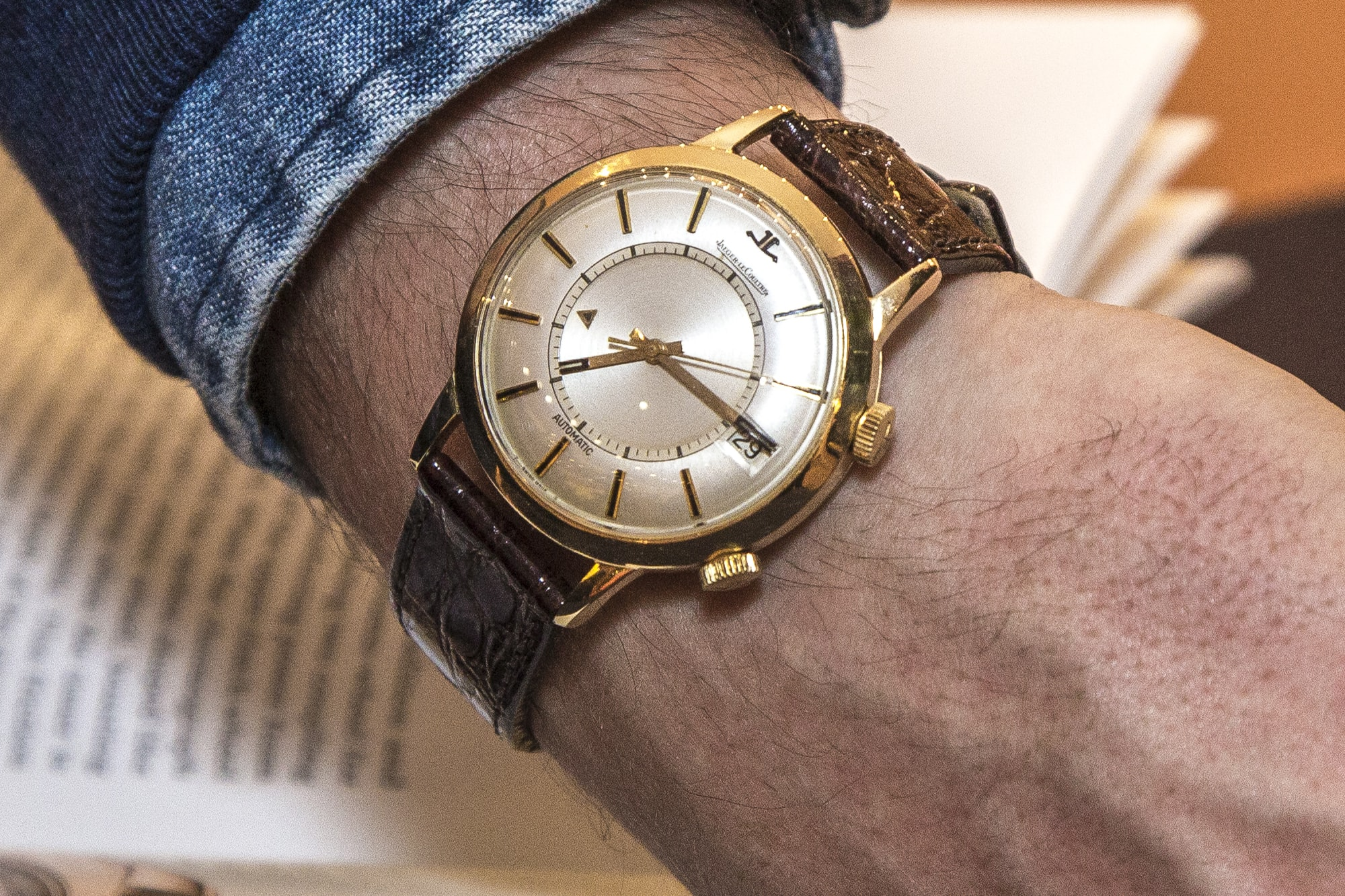 Photo Report: HODINKEE Hosts A Collector Get-Together At The Wempe Boutique In London Photo Report: HODINKEE Hosts A Collector Get-Together At The Wempe Boutique In London Memovox