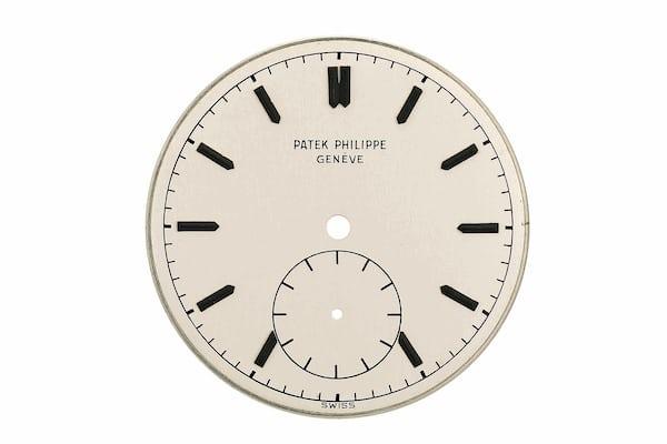 Ref. 2419 dial patek philippe