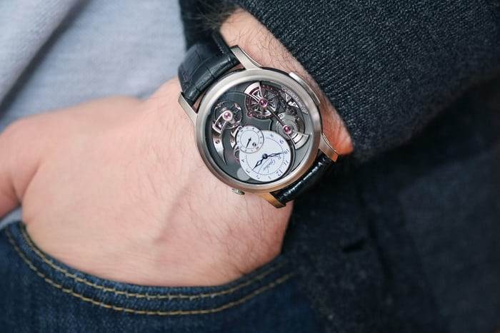 logical one romain gauthier titanium