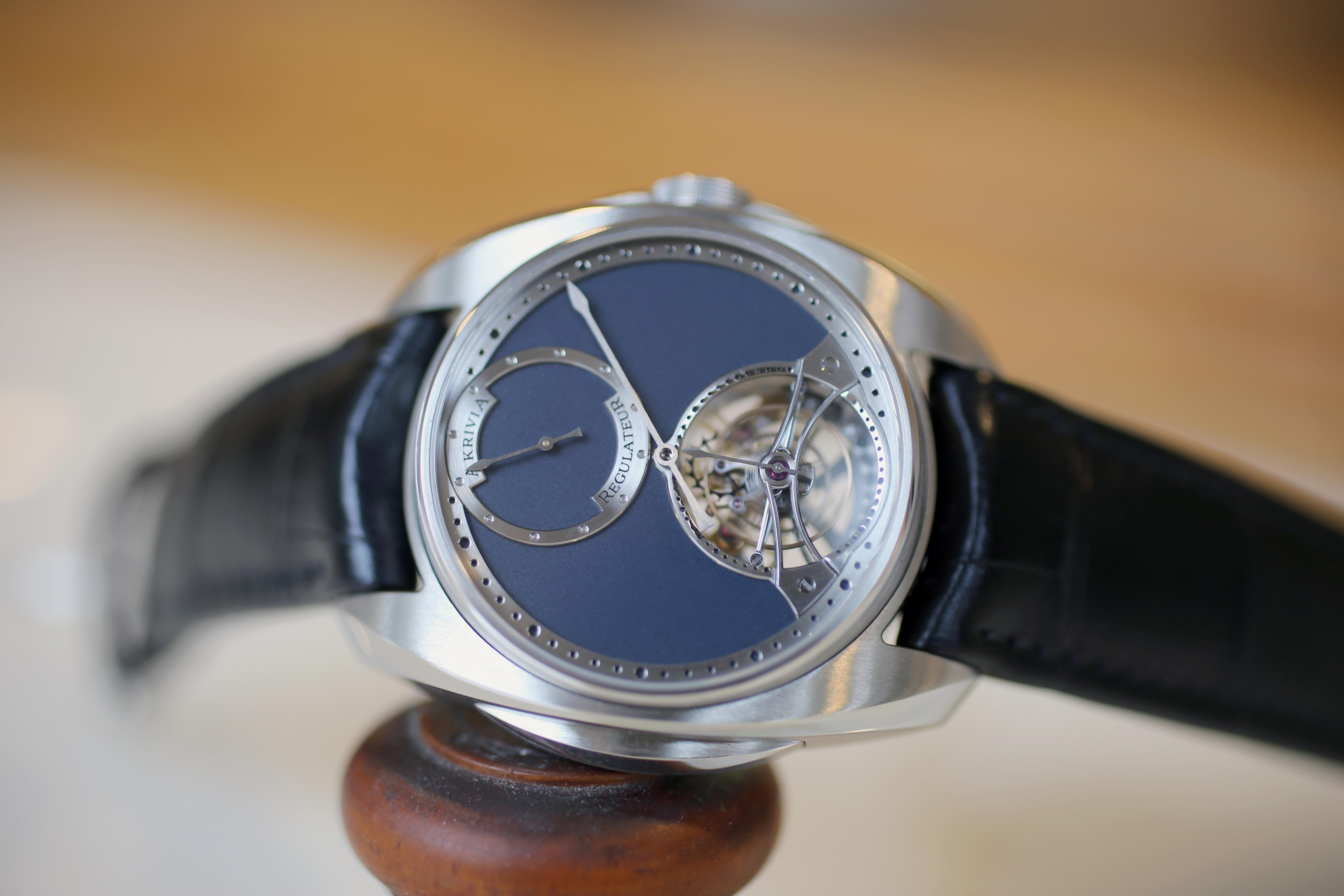 The AkriviA Tourbillon Regulator. Remember Rexhep Rexhepi, Geneva's Next Big Thing? He's Still Busy Making Watches, And His Business Is Growing Remember Rexhep Rexhepi, Geneva's Next Big Thing? He's Still Busy Making Watches, And His Business Is Growing IMG 2521
