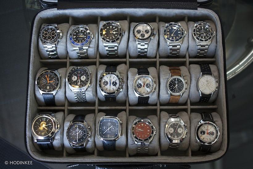 Spike Feresten watches