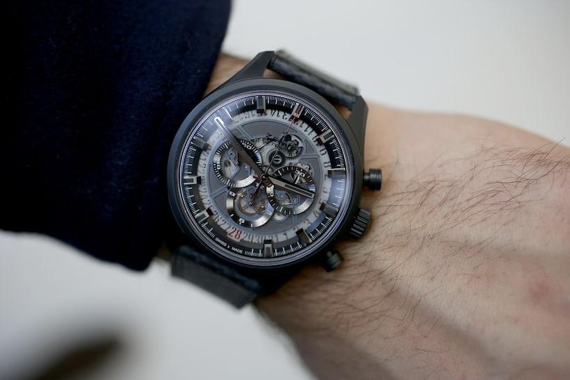 Zenith El Primero Skeleton wrist shot