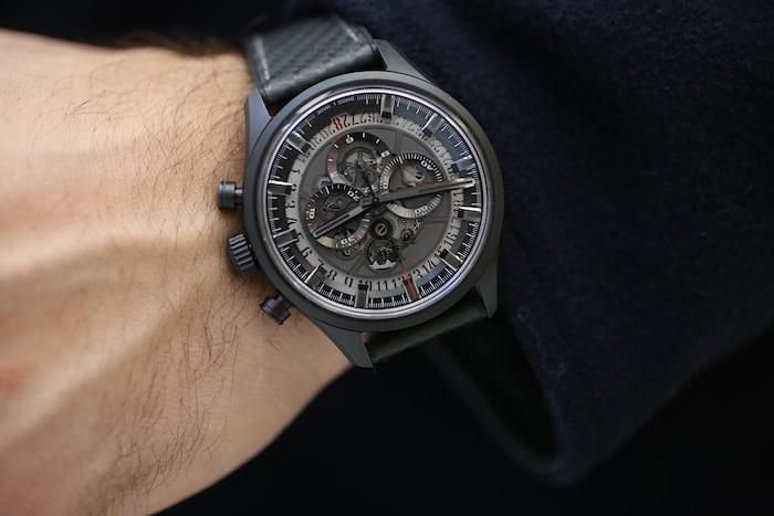 Zenith El Primero Skeleton on the wrist