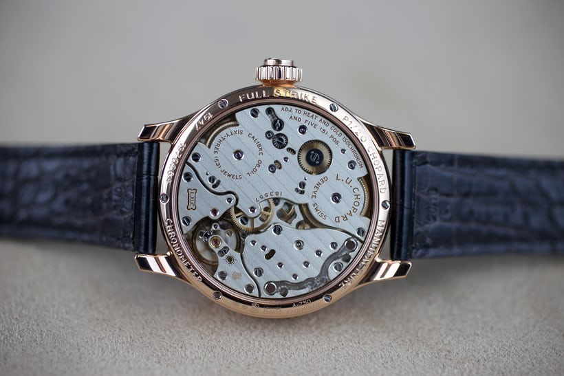 Chopard Full Strike minute repeater, movement plate