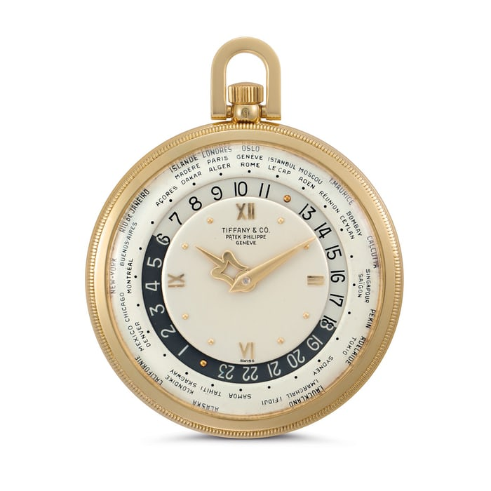 ref. 605 HU pocket watch