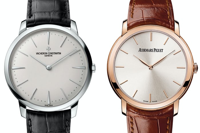 The Vacheron Constantin Patrimony ref. 81180 and Jules Audemars Self-Winding