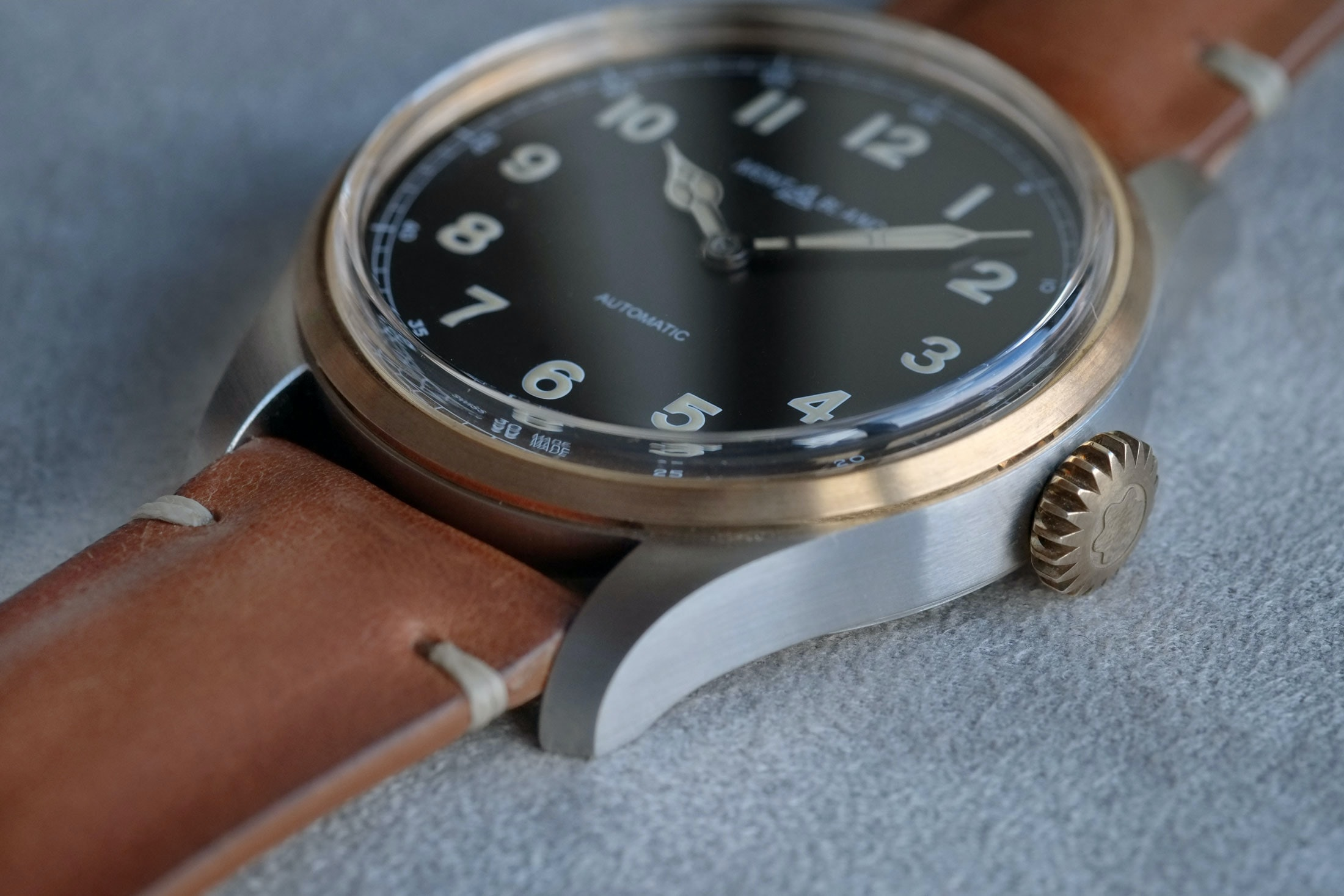 two tone steel bronze 1858 automatic montblanc Introducing: The Montblanc 1858 Automatic And 1858 Automatic Dual Time, Two-Tone In Stainless Steel And Bronze (Live Pics & Pricing) Introducing: The Montblanc 1858 Automatic And 1858 Automatic Dual Time, Two-Tone In Stainless Steel And Bronze (Live Pics & Pricing) montblanc 06
