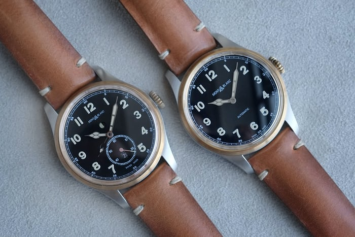 montblanc 1858 automatic collection
