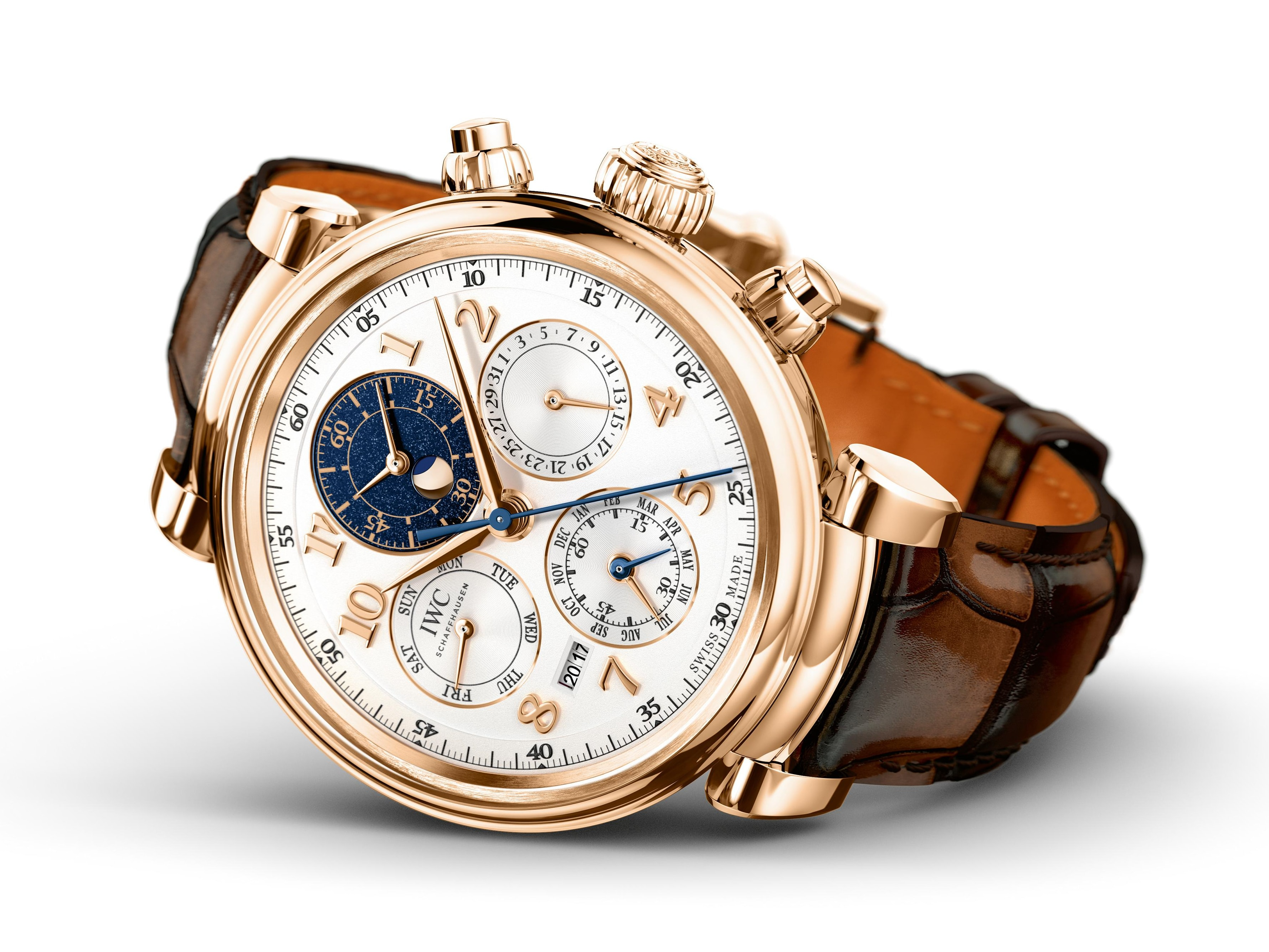 IWC Perpetual Calendar Chronograph Ref. IW392101 Introducing: Three New Da Vinci Watches From IWC, Including 2 Ladies' Timepieces, And A New Da Vinci Perpetual Chronograph Introducing: Three New Da Vinci Watches From IWC, Including 2 Ladies' Timepieces, And A New Da Vinci Perpetual Chronograph IW392101 Lifestyle