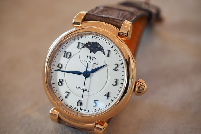 Da Vinci Automatic Moon Phase 36 live shot
