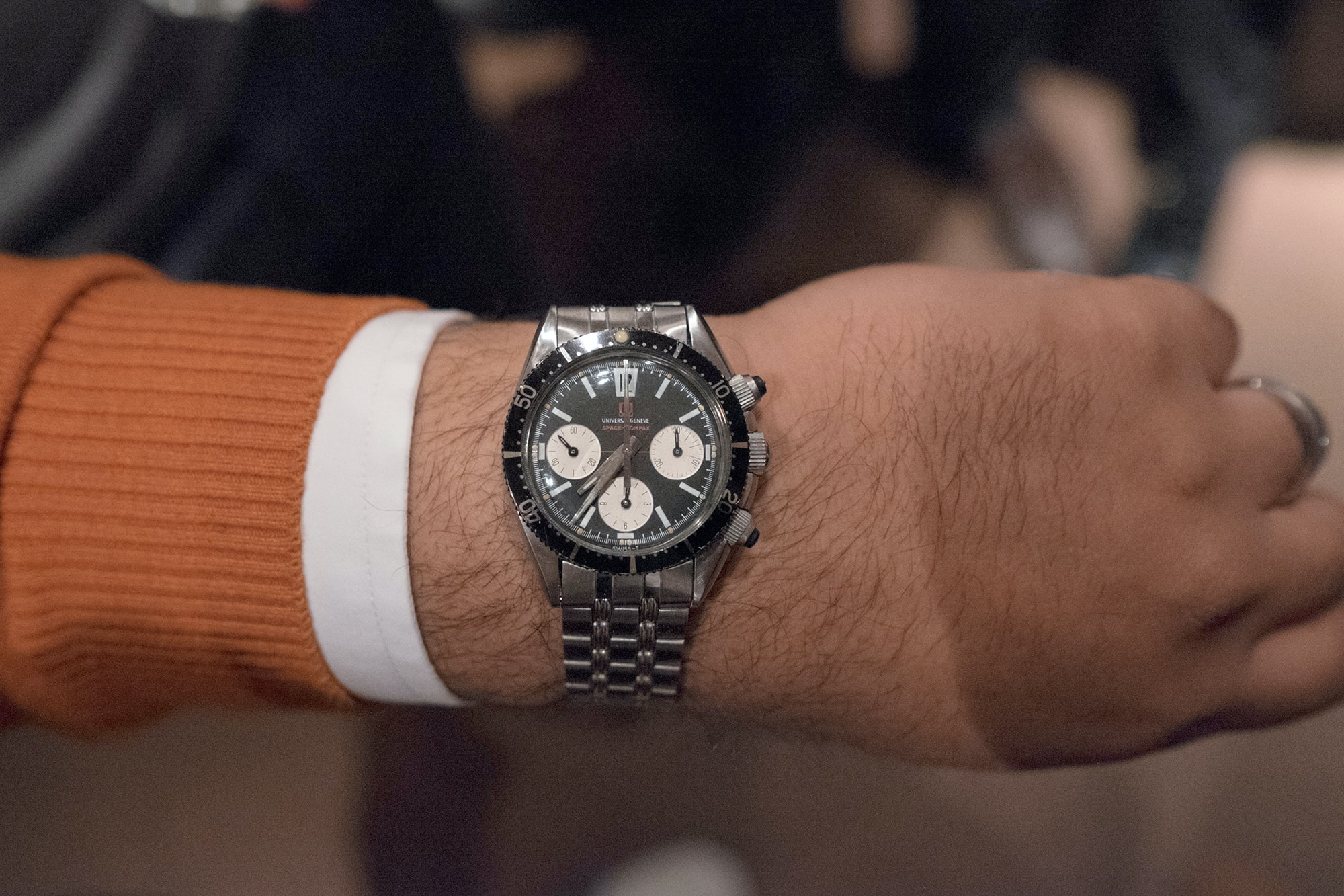 Photo Report: Watch Spotting At The HODINKEE Meet-Up In London (Plus Our Holiday 2016 Pop-Up At Harrods) Photo Report: Watch Spotting At The HODINKEE Meet-Up In London (Plus Our Holiday 2016 Pop-Up At Harrods) Hodinkee event 29 nov 2016 60