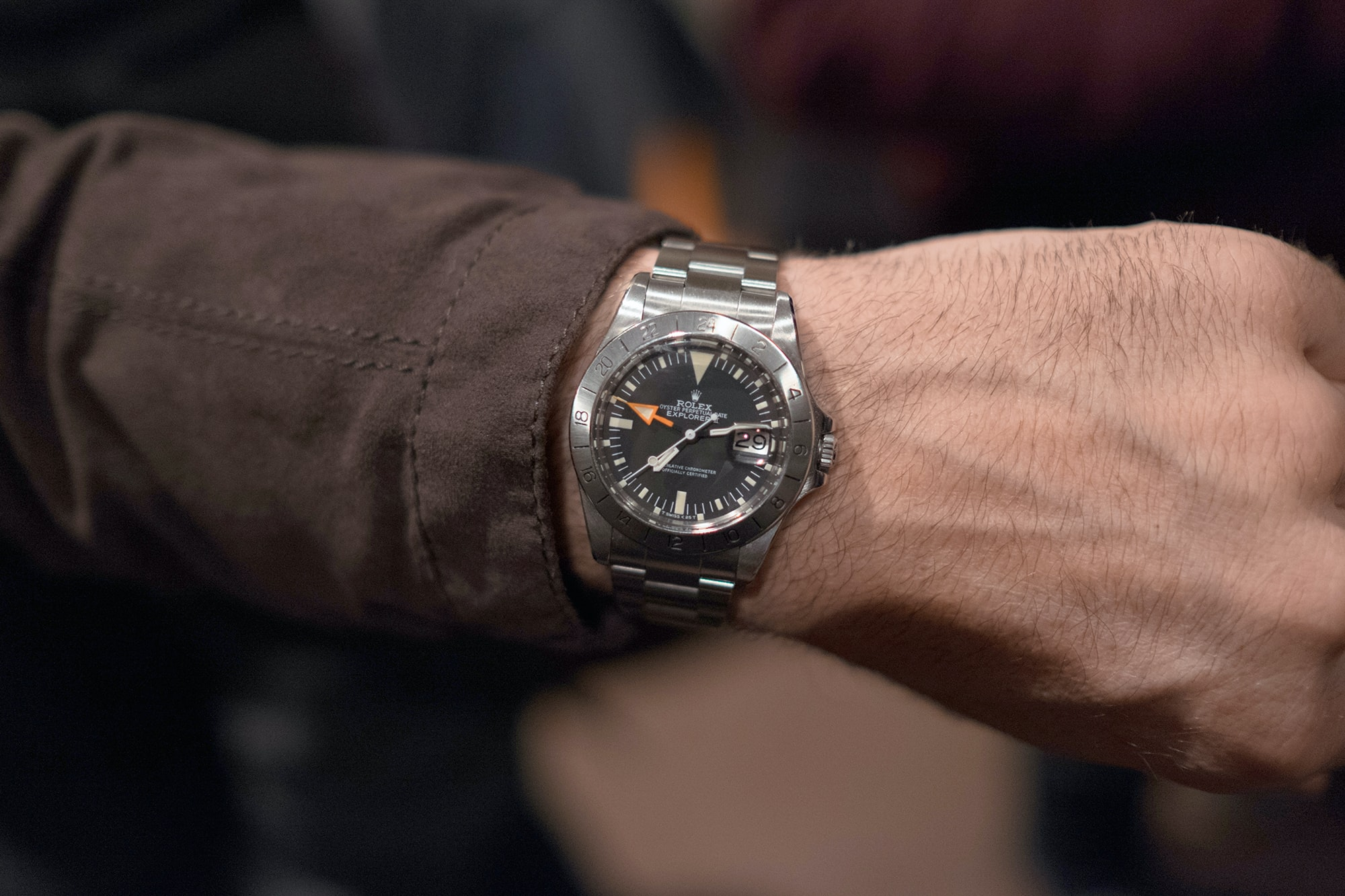 Photo Report: Watch Spotting At The HODINKEE Meet-Up In London (Plus Our Holiday 2016 Pop-Up At Harrods) Photo Report: Watch Spotting At The HODINKEE Meet-Up In London (Plus Our Holiday 2016 Pop-Up At Harrods) Hodinkee event 29 nov 2016 40