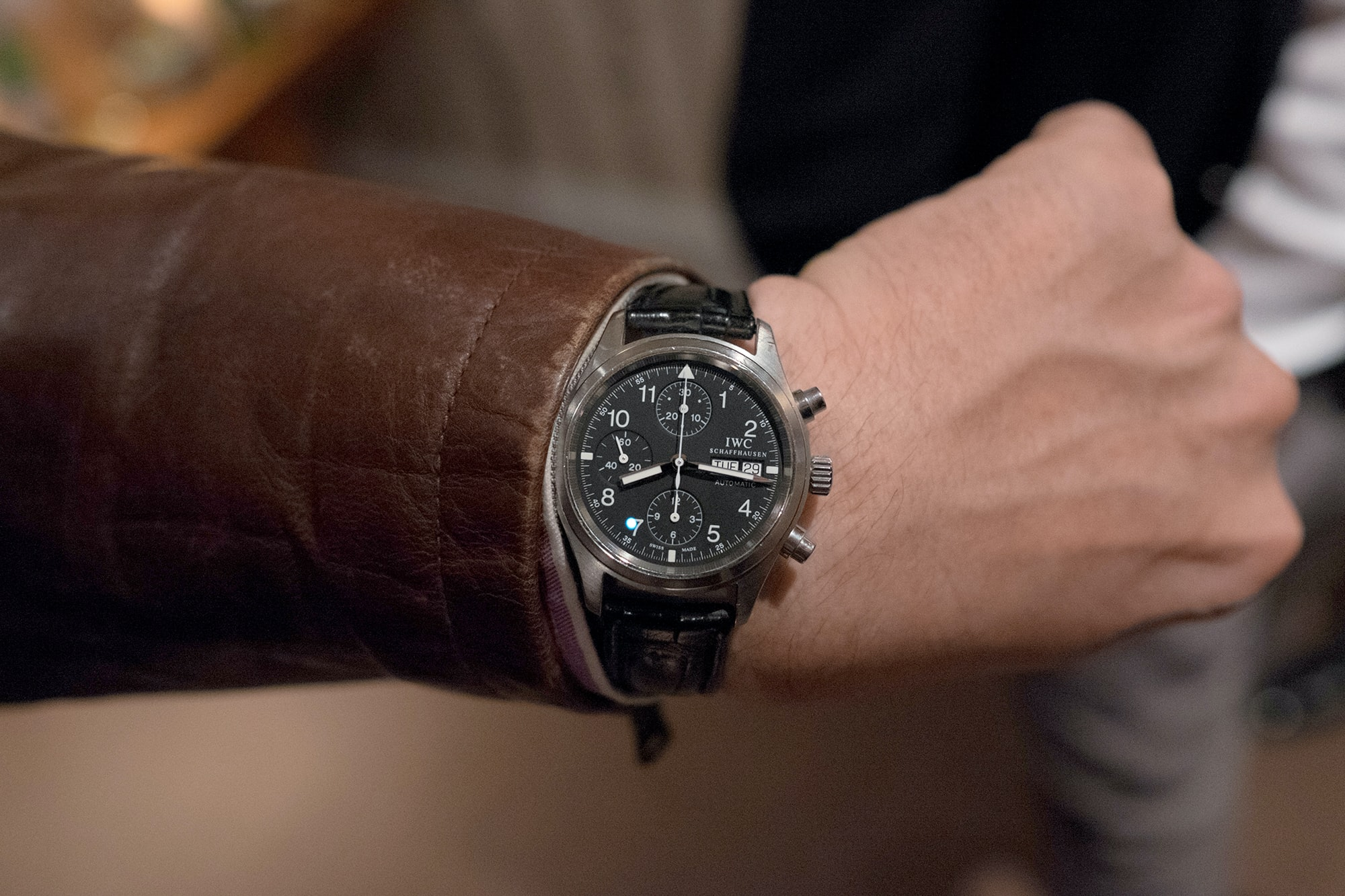 Photo Report: Watch Spotting At The HODINKEE Meet-Up In London (Plus Our Holiday 2016 Pop-Up At Harrods) Photo Report: Watch Spotting At The HODINKEE Meet-Up In London (Plus Our Holiday 2016 Pop-Up At Harrods) Hodinkee event 29 nov 2016 78