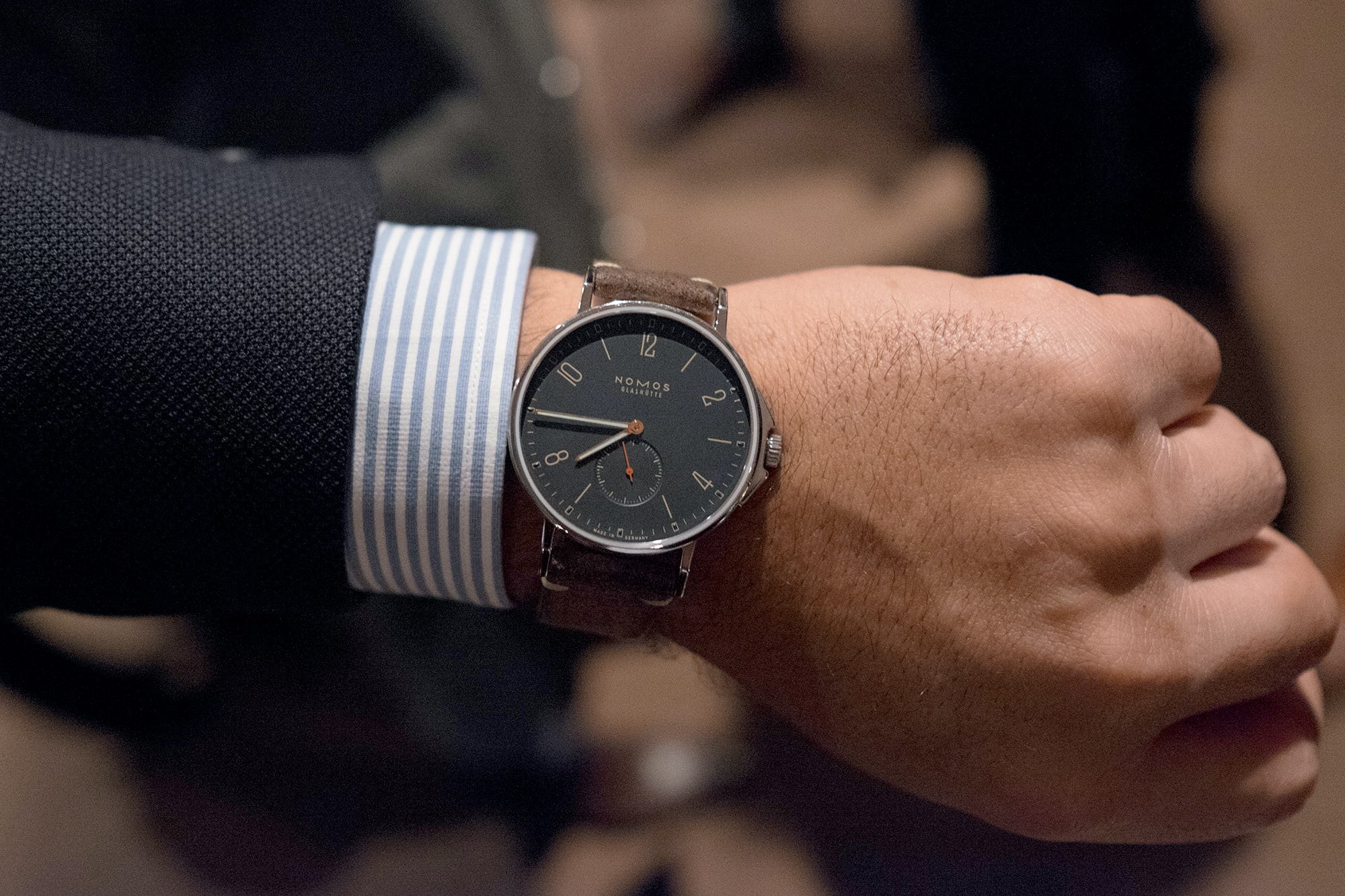 Photo Report: Watch Spotting At The HODINKEE Meet-Up In London (Plus Our Holiday 2016 Pop-Up At Harrods) Photo Report: Watch Spotting At The HODINKEE Meet-Up In London (Plus Our Holiday 2016 Pop-Up At Harrods) Hodinkee event 29 nov 2016 65