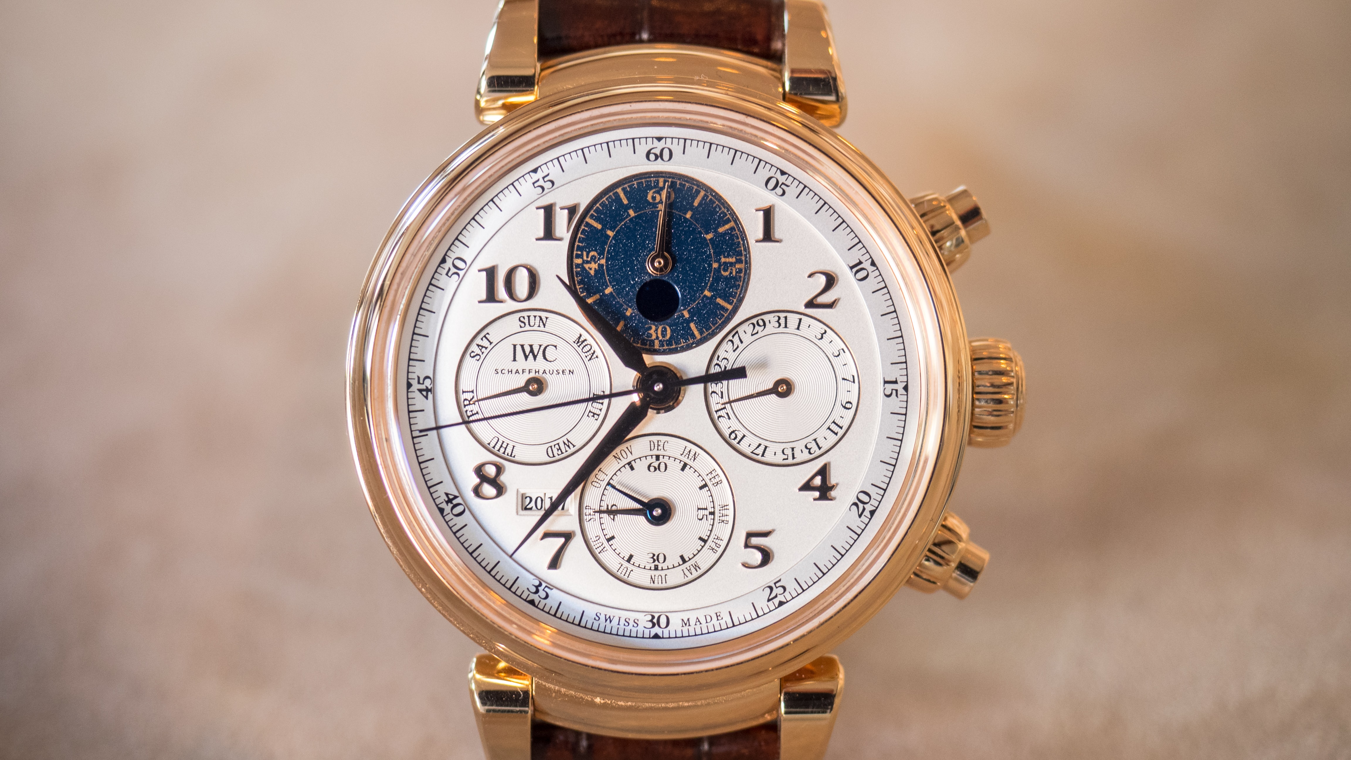 Introducing: Three New Da Vinci Watches From IWC, Including 2 Ladies' Timepieces, And A New Da Vinci Perpetual Chronograph