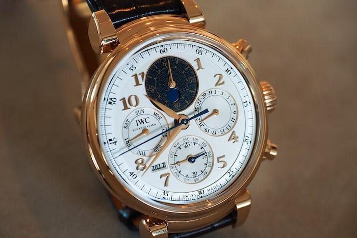 IWC Perpetual Calendar Chronograph Ref. IW392101 dial