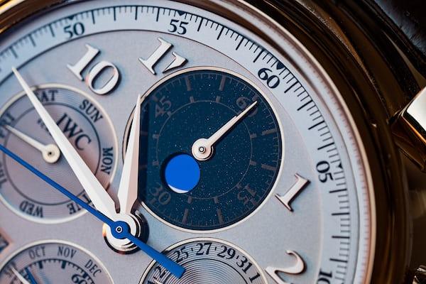 IWC Perpetual Calendar Chronograph Ref. IW392101 moonphase