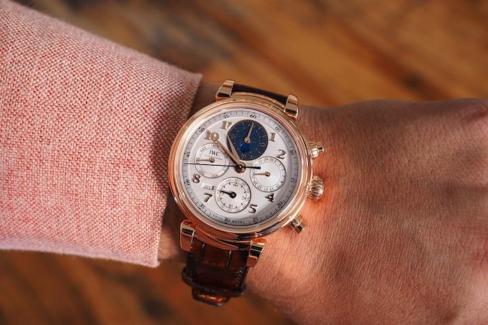 IWC Perpetual Calendar Chronograph Ref. IW392101 wrist shot