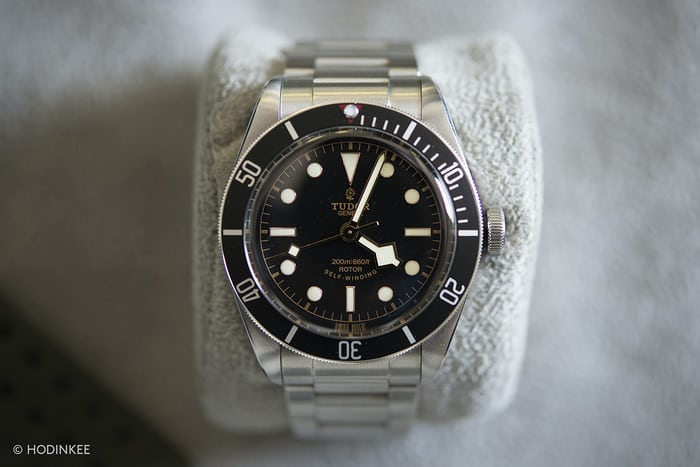 Spike Feresten Tudor Black Bay Black