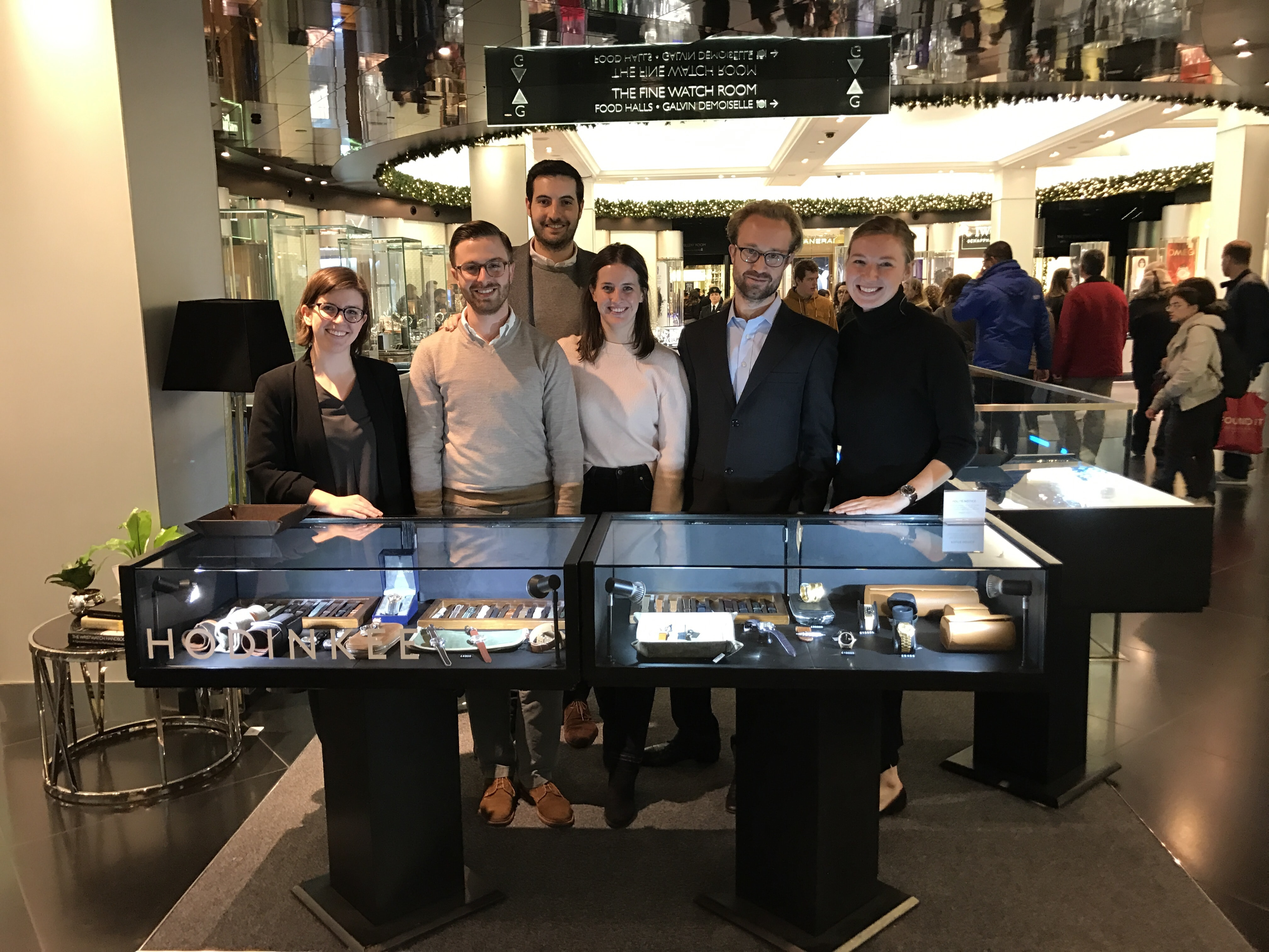 Photo Report: Watch Spotting At The HODINKEE Meet-Up In London (Plus Our Holiday 2016 Pop-Up At Harrods) Photo Report: Watch Spotting At The HODINKEE Meet-Up In London (Plus Our Holiday 2016 Pop-Up At Harrods) Slack for iOS Upload 1