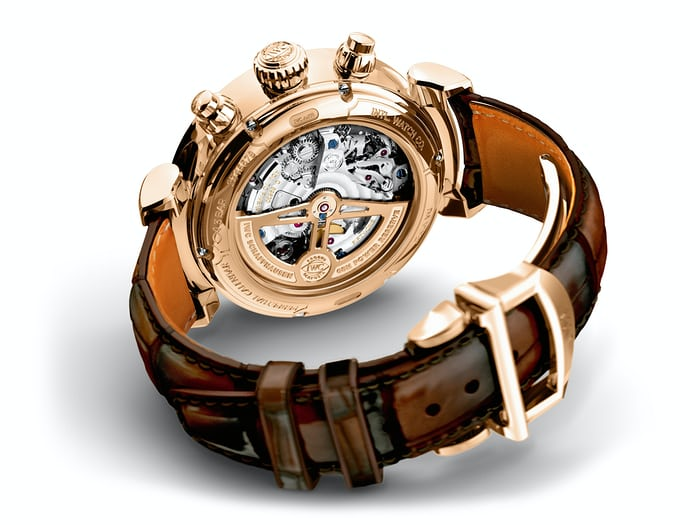 IWC Perpetual Calendar Chronograph Ref. IW392101 movement