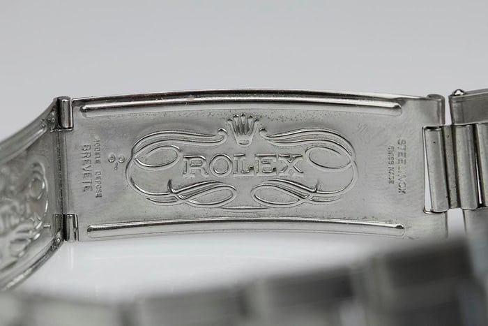 Rolex clasp Oyster bracelet