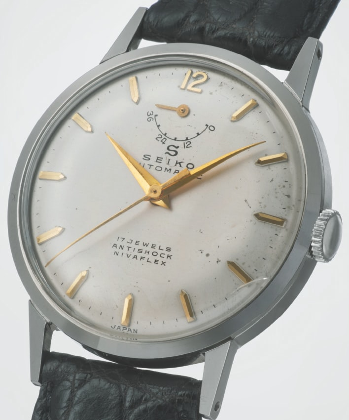 vintage Seiko Marvel 1956 with power reserve Introducing: The Seiko Presage Automatic 60th Anniversary Limited Edition, SARW027 Introducing: The Seiko Presage Automatic 60th Anniversary Limited Edition, SARW027 1956     trim